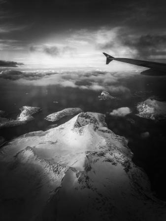 Flug nach Tromsø